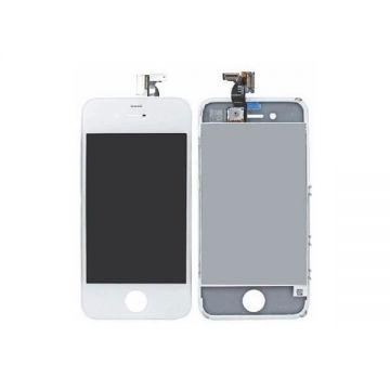 IPHONE 4S BLANC ECRAN LCD ET VITRE TACTILE ASSEMBLES