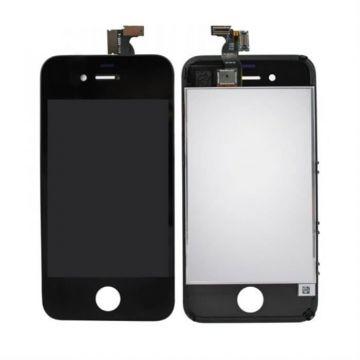 IPHONE 4S NOIR ECRAN LCD ET VITRE TACTILE ASSEMBLES