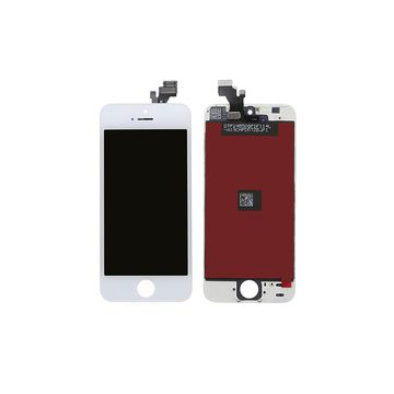 IPHONE 5 BLANC ECRAN LCD ET VITRE TACTILE ASSEMBLES