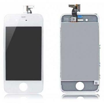 IPHONE 4 BLANC ECRAN LCD ET VITRE TACTILE ASSEMBLES