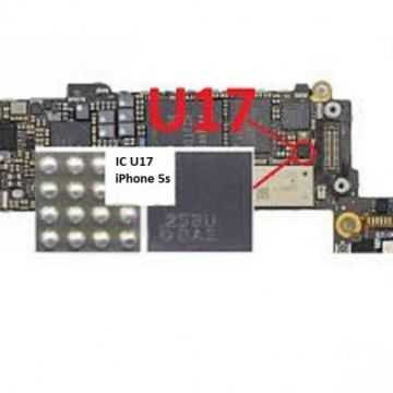 iPhone 5s IC U17 Controle Flash