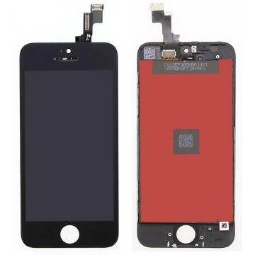 IPHONE 5S NOIR ECRAN LCD ET VITRE TACTILE ASSEMBLES