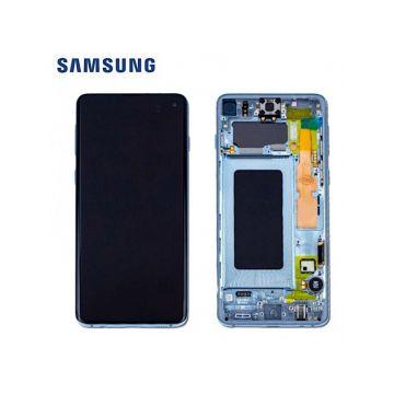 Ecran Complet Bleu Galaxy S20 G980F (Service Pack)