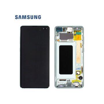 Ecran Complet Vert Galaxy S10+ G975F (Service Pack)