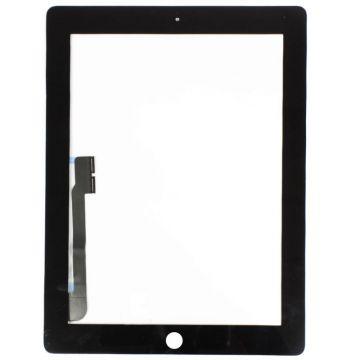 """Vitre tactile noire pour iPad 3e 9,7"""" A1416-A1430-A1403"""