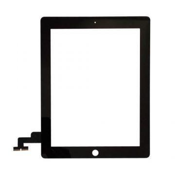 """Vitre tactile noire pour iPad 2 9,7"""" A1395-A1396-A1397"""