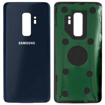 Cache Batterie Vitre Arriere pour Samsung Galaxy S9 Plus Bleu
