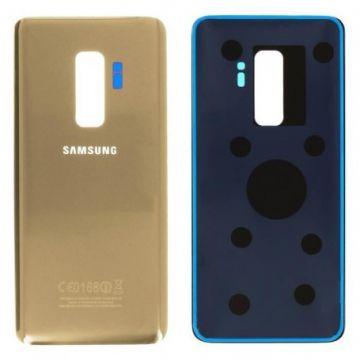 Cache Batterie Vitre Arriere pour Samsung Galaxy S9 Plus Gold