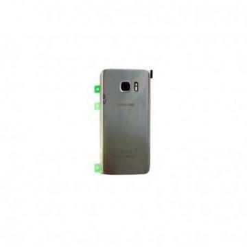 Cache Batterie Vitre Arriere Samsung Galaxy S7 Edge G935F Silver
