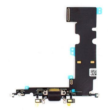Dock connecteur de charge Noir iPhone 8
