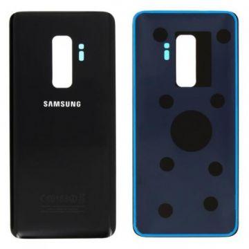 Cache Batterie Vitre Arriere pour Samsung Galaxy S9 Plus Noir