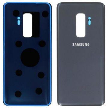 Cache Batterie Vitre Arriere pour Samsung Galaxy S9 Plus Gris