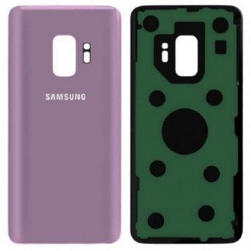 Cache Batterie Vitre Arriere pour Samsung Galaxy S9 G960F Violet