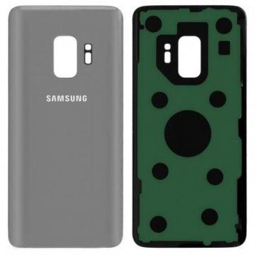 Cache Batterie Vitre Arriere pour Samsung Galaxy S9 G960F Silver