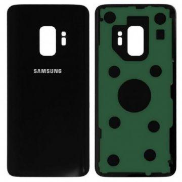Cache Batterie Vitre Arriere pour Samsung Galaxy S9 G960F Noir