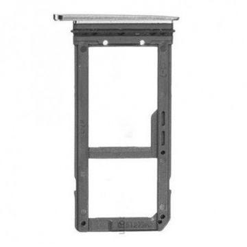 Tiroir Carte Sim pour Samsung Galaxy S7 G930F Blanc