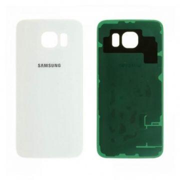 Cache Batterie Samsung Galaxy S6 Blanc