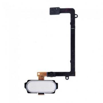 Bouton Home Blanc pour Samsung Galaxy S6 Edge