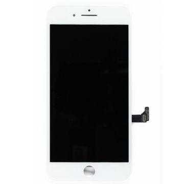 ECRAN BLANC LCD ET VITRE TACTILE ASSEMBLES IPHONE 8/SE2