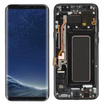 Ecran Complet LCD+Tactile+Chässis pour Samsung Galaxy S8 Plus G955F Noir