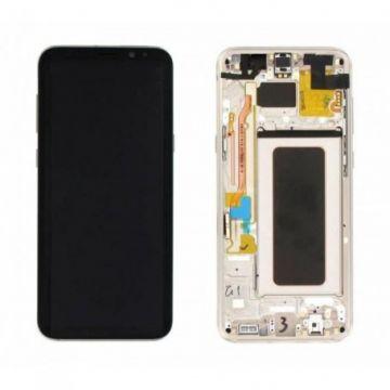 Ecran Complet LCD+Tactile+Chässis pour Samsung Galaxy S8 Plus G955F Gold