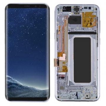 Ecran Complet LCD+Tactile+Chässis pour Samsung Galaxy S8 Plus G955F Orchide