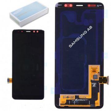 Ecran complet LCD et tactile pour Samsung A8 A530F noir