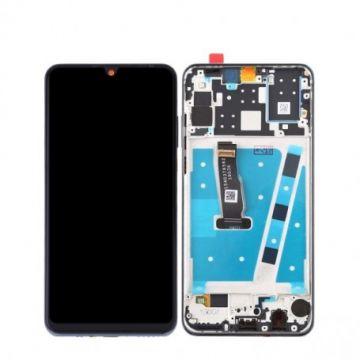 Ecran complet Noir Huawei P30 Lite (avec chässis)