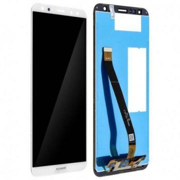Ecran LCD et vitre tactile Assembles pour Huawei Mate 10 Lite Blanc